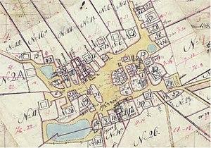 Vindinge, Roskilde Municipality - Vindinge in 1805