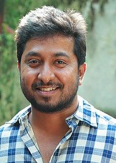 Vineeth Sreenivasan Indian actor, producer, director, scriptwriter, lyricist, dubbing artist and singer