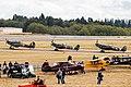Vintage Aircraft Weekend, Paine Field, 2016 Hurricane, Spitfire, Spitfire (29477816665).jpg
