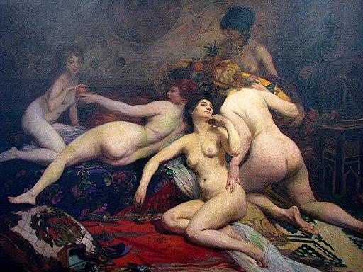 Virgílio Maurício - L'heure du Gouter, 1914