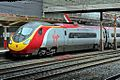 """Virgin Class 390, 390049 """"Virgin Express"""", platform 5, Crewe railway station (geograph 4524840).jpg"""