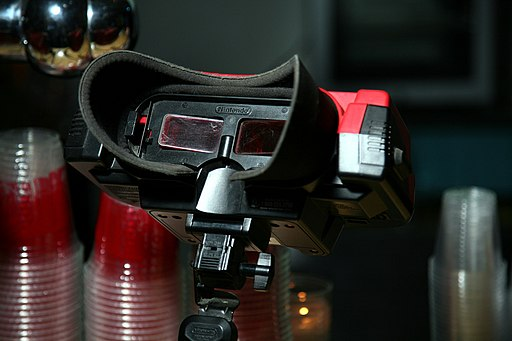 Virtual Boy eyepiece