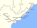Visakha Express Route map.png