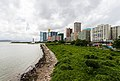 Vista de los casinos desde el Centro de Ciencia, Macao, 2013-08-08, DD 05.jpg