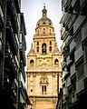 Vista del campanario de la catedral de Murcia.jpg