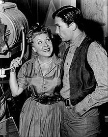 Vance with Allen Case on TV's The Deputy (1959)