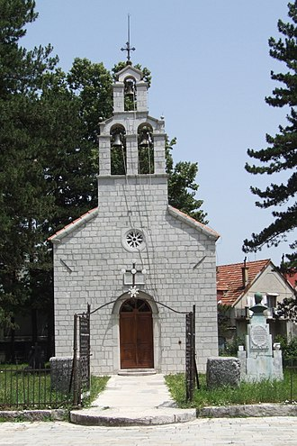 Battle of Grahovac - A rail guard of the Vlah Church in Cetinje was built of captured Ottoman rifle barrels in the Battle of Grahovac