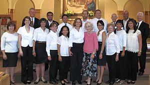 Saint Joseph Parish (Mountain View, California) - Voices of Praise Choir, 06/03/2012