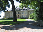 Voltaire's château at Ferney, France.