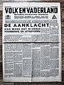 "Voorpagina Nederlands (NSB) Nationaal socialistisch Weekblad ""Volk En Vaderland"" 31 Mei 1940.jpg"