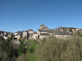 A general view of Voutezac