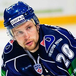 Petr Vrána Czech ice hockey player