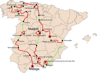 2006 Vuelta a España - Overview of the stages