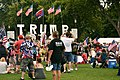 "WASHINGTON DC, SEPT 16 2017- The ""Mother of All Rallies"" event in support of Donald Trump draws a small group to the National Mall. (36872133910).jpg"