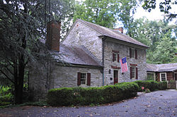 William Black Homestead, built 1776