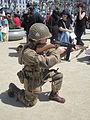 WW II American paratrooper reenactor at 2010 NCCBF 2010-04-18 10 2.JPG
