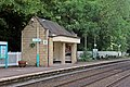 Waiting shelter, Chirk railway station (geograph 4024216).jpg