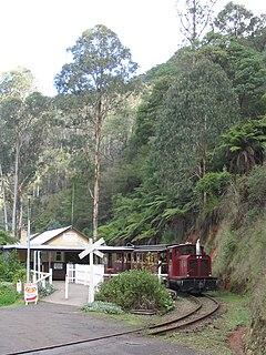 Walhalla Goldfields Railway Narrow gauge tourist railway in Victoria, Australia