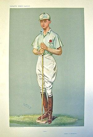 Walter Buckmaster - Vanity Fair caricature by Spy (Leslie Ward), 4 September 1907.