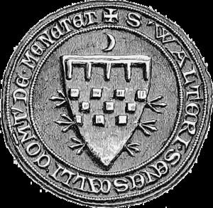 Walter Bailloch - The seal of Walter.