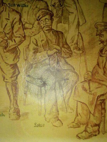 File:Wandzeichnung Wilhelm Lotze in der Louis Winkelmann Weinhandlung in Münden cropped.jpg