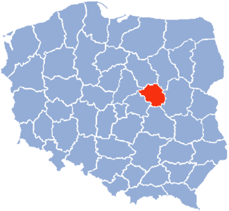 Warsaw Voivodeship (1975–98) - Image: Warszawa Voivodship 1975