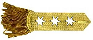 "General of the Armies - George Washington's rank insignia as ""General and Commander-in-Chief"""