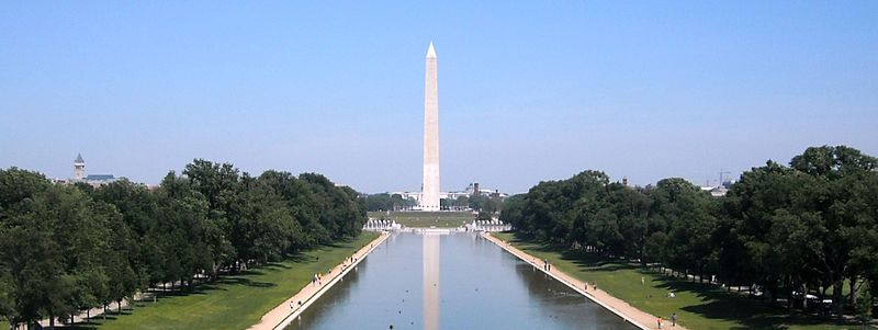 Ficheiro:Washington Monument view from Lincoln Memorial.JPG