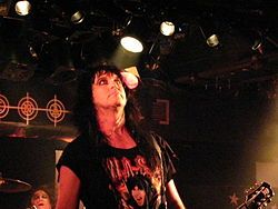 Blackie Lawless in concerto con i W.A.S.P. (2006)