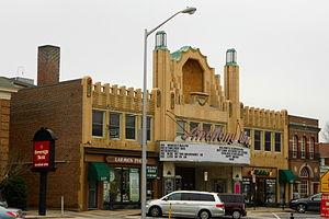Downtown Wayne Historic District - Wayne Theater, Downtown Wayne Historic District, December 2012