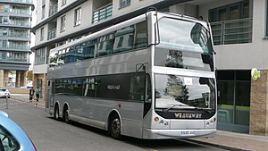 East Lancs Myllennium Nordic - A Myllennium Nordic operated by Weavaway Travel.