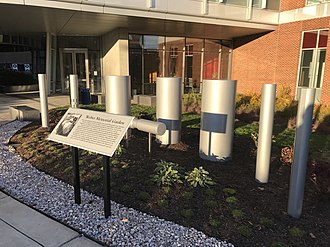 Weber bar - The Weber Memorial Garden at the University of Maryland.