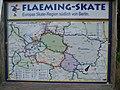 Wegweiser Fläming-Skate zum aktuellen Standort - panoramio.jpg