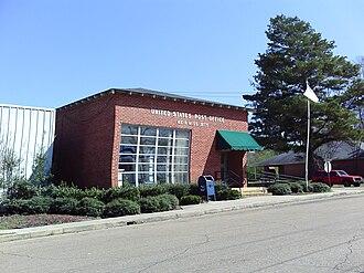 Weir, Mississippi - Image: Weir Mississippi Postoffice