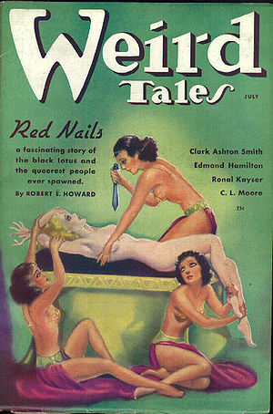 Cover of the pulp magazine Weird Tales (Jul 19...