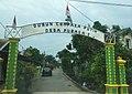 Welcome gate to Puraka I (Dusun Cempaka Putih), Sei Lepan, Langkat.jpg