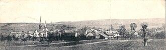 Welgesheim - Panoramic view of Welgesheim from 1896