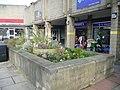 Wellington Arcade Nursery Bed, Briggate, Brighouse (geograph 6020425).jpg