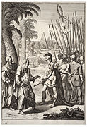 Wenceslas Hollar - Superiority of the warrior class (State 2)