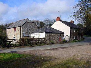 Wenfordbridge - The hamlet of Wenfordbridge