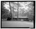 West elevation - Bastrop State Park, Cabin No. 4, Bastrop, Bastrop County, TX HABS TX-3522-3.tif