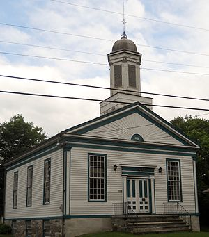 Weybridge, Vermont - The Weybridge Town Hall on Quaker Village Road
