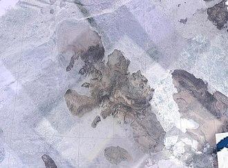 Ellef Ringnes Island - NASA Landsat photo of Ellef Ringnes Island