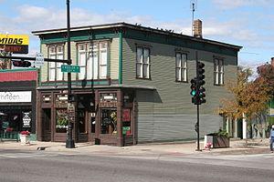 Irving Park, Chicago - The Whistle Stop Inn, a Chicago Landmark