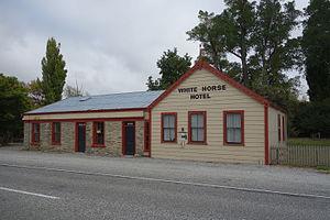 Becks, New Zealand - The former White Horse Hotel in Becks