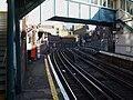 Whitechapel station platform 2 look east2.JPG