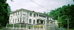 The White Hall complex houses the residences of the Chief Minister and Governor of Sikkim.