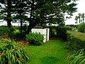 Whitewashed Garden Shed - geograph.org.uk - 555258.jpg