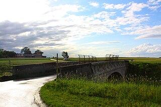Village in Greater Poland, Poland