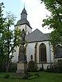 Wiedenbrück Franziskanerkloster Mariensäule.jpg